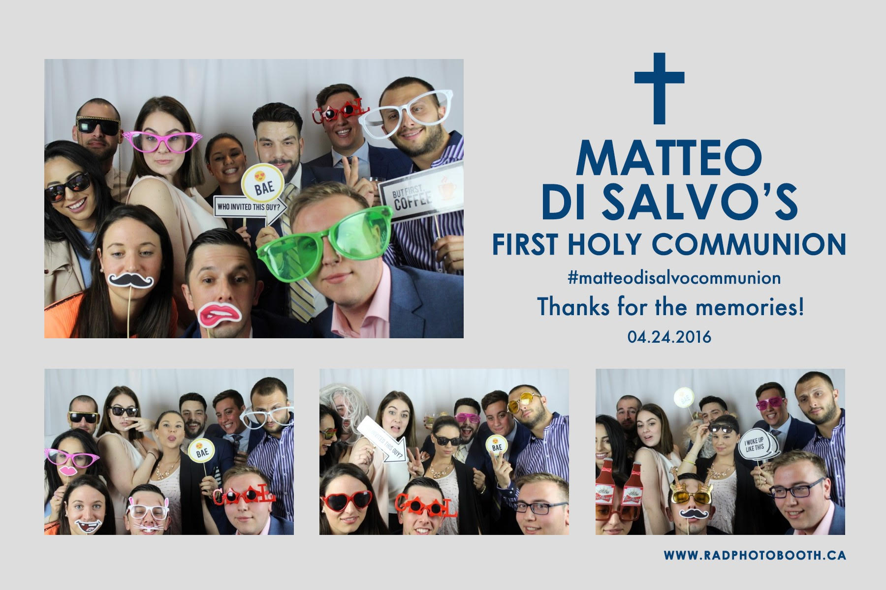 Matteo First Communion - Terrace Banquet Centre