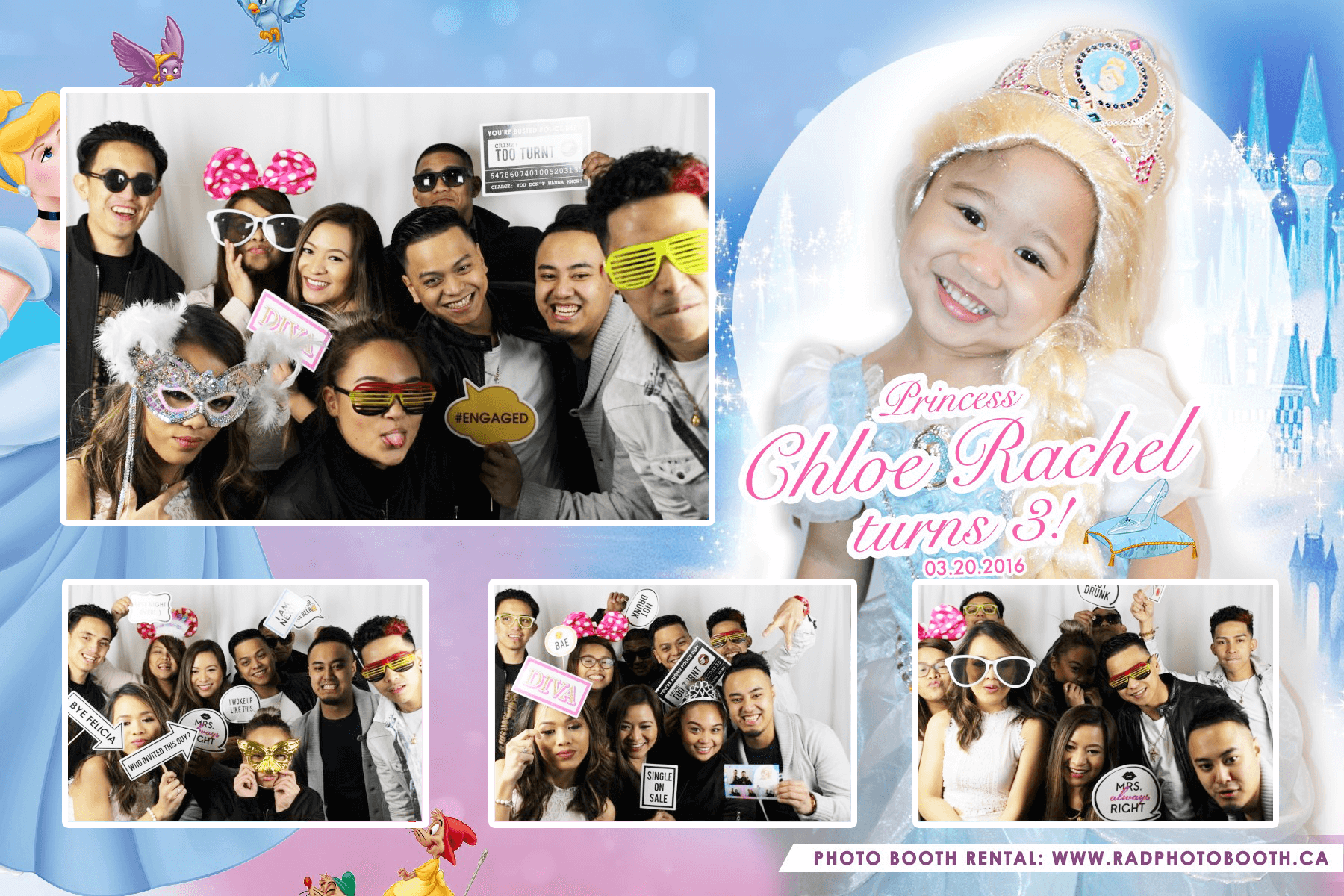Cinderella Theme Photo Booth