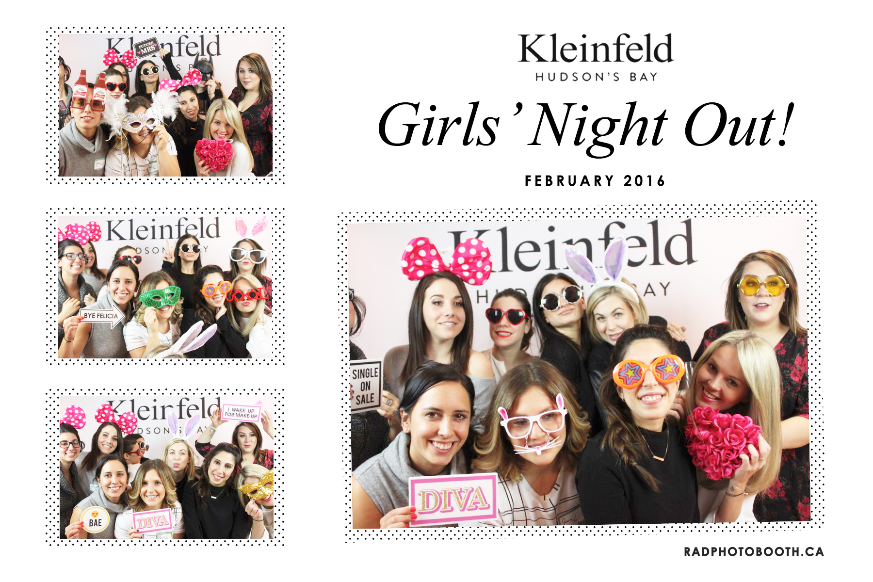 kleinfeld girls night out bridesmaid event