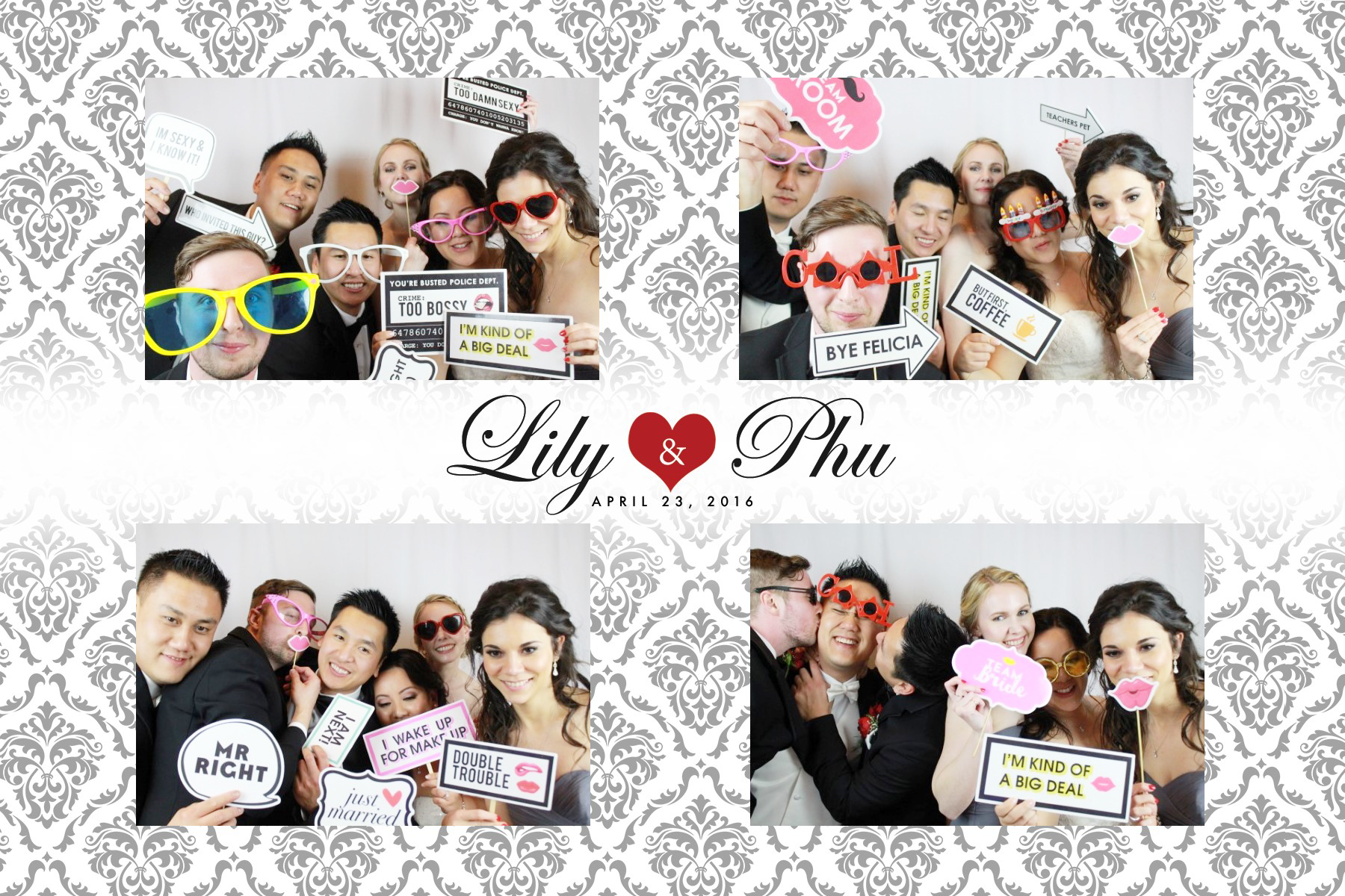 Chateau Le Jardin Event Venue Photo Booth
