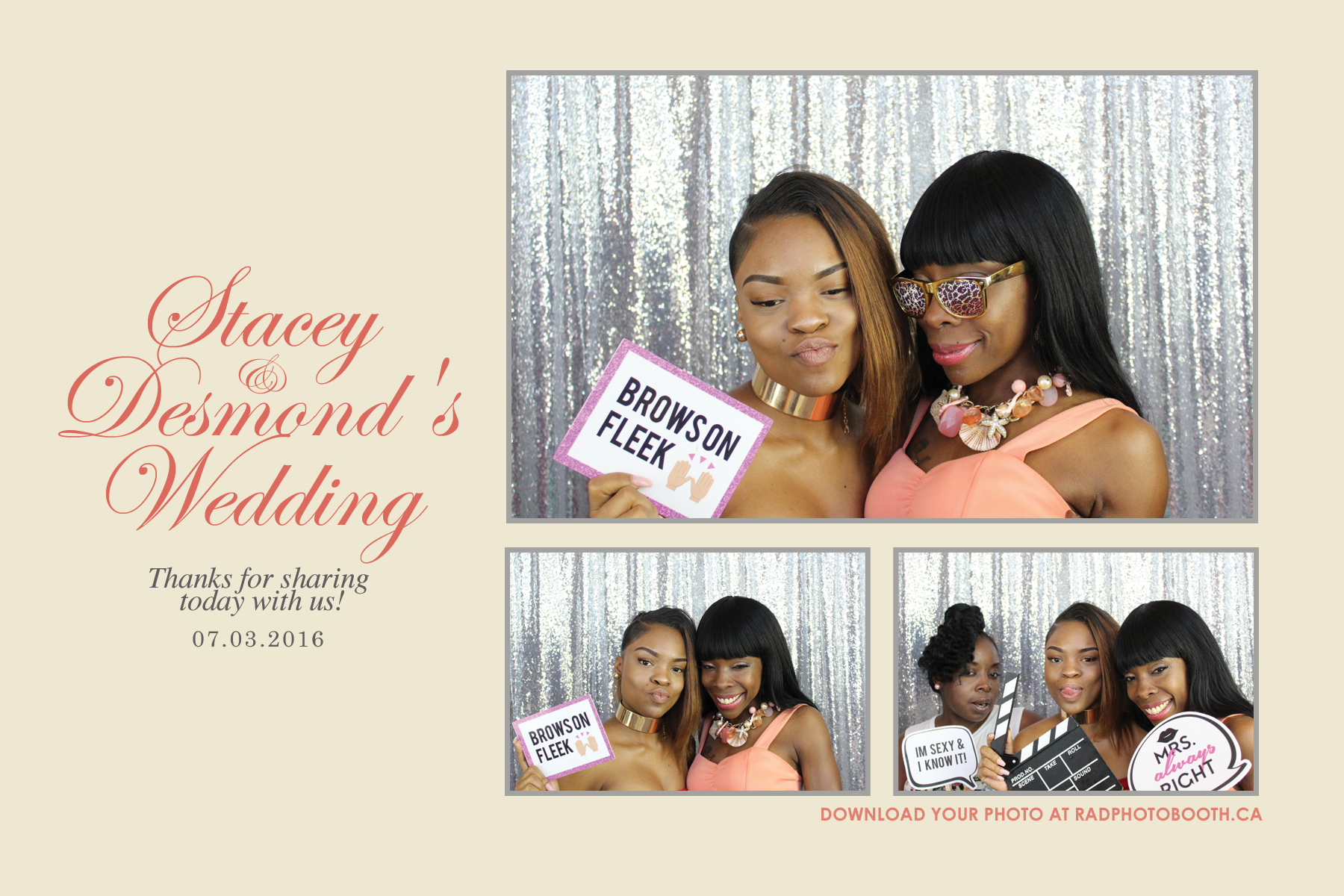 Stacey & Desmond Wedding