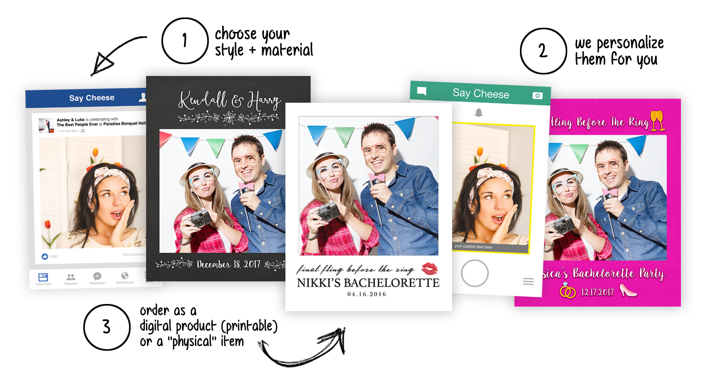 Selfie Frame Cutouts
