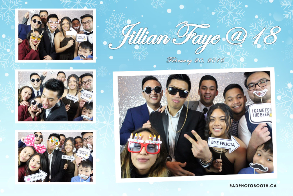 18th Debut Party Photo Booth