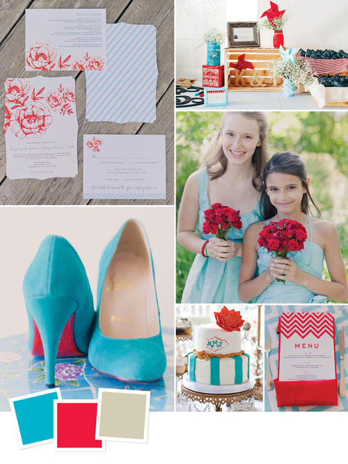 15 Wedding Color Combos