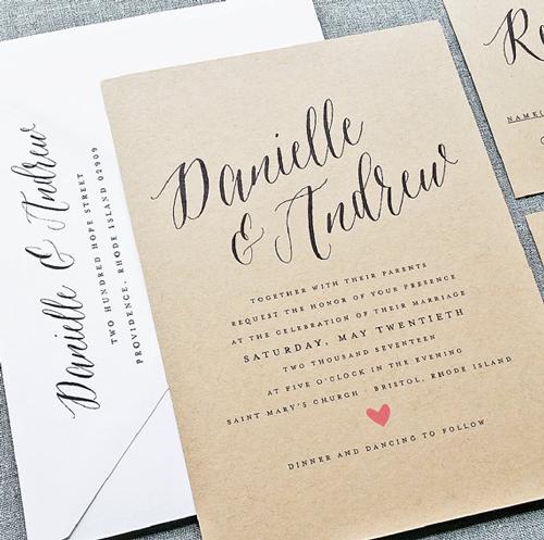 Danielle Calligraphy Script