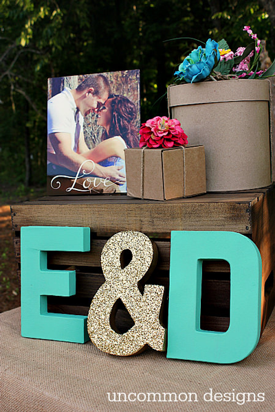 DIY Budget Wedding Décor Project