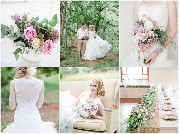 Dreamy Pastel and Gold Pretoria Wedding