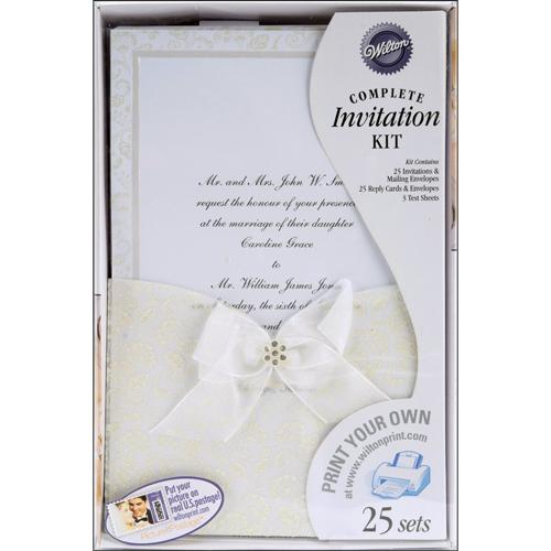 Happy Day Wedding Invitation