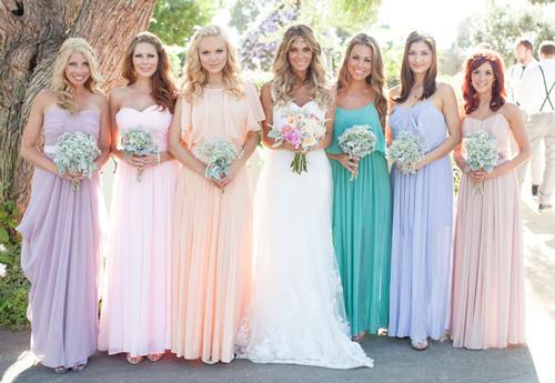 Hot Wedding Color Combination