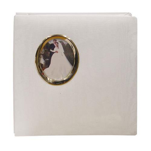 Oval Framed Wedding Photo Album