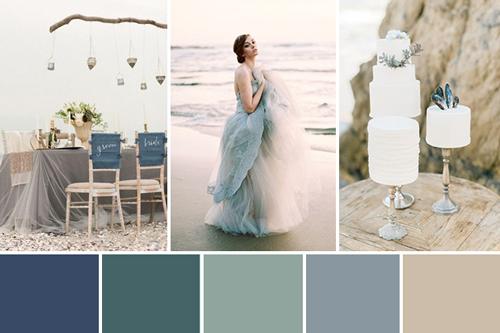 Sea Wedding Color Inspiration