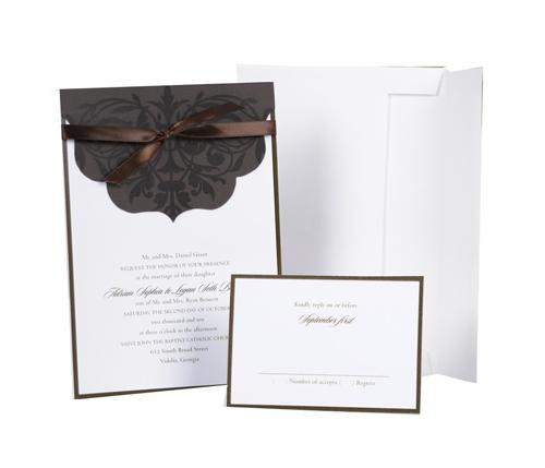 Wedding Accessories Print Yourself Invitation Kit