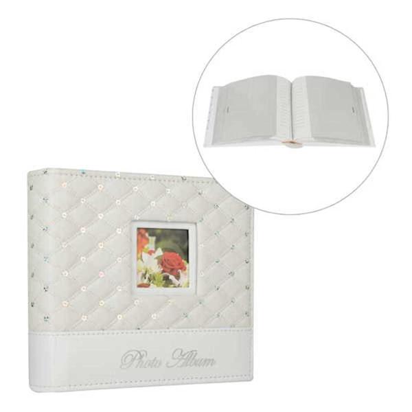 White Quilt & Sequin Motif Wedding