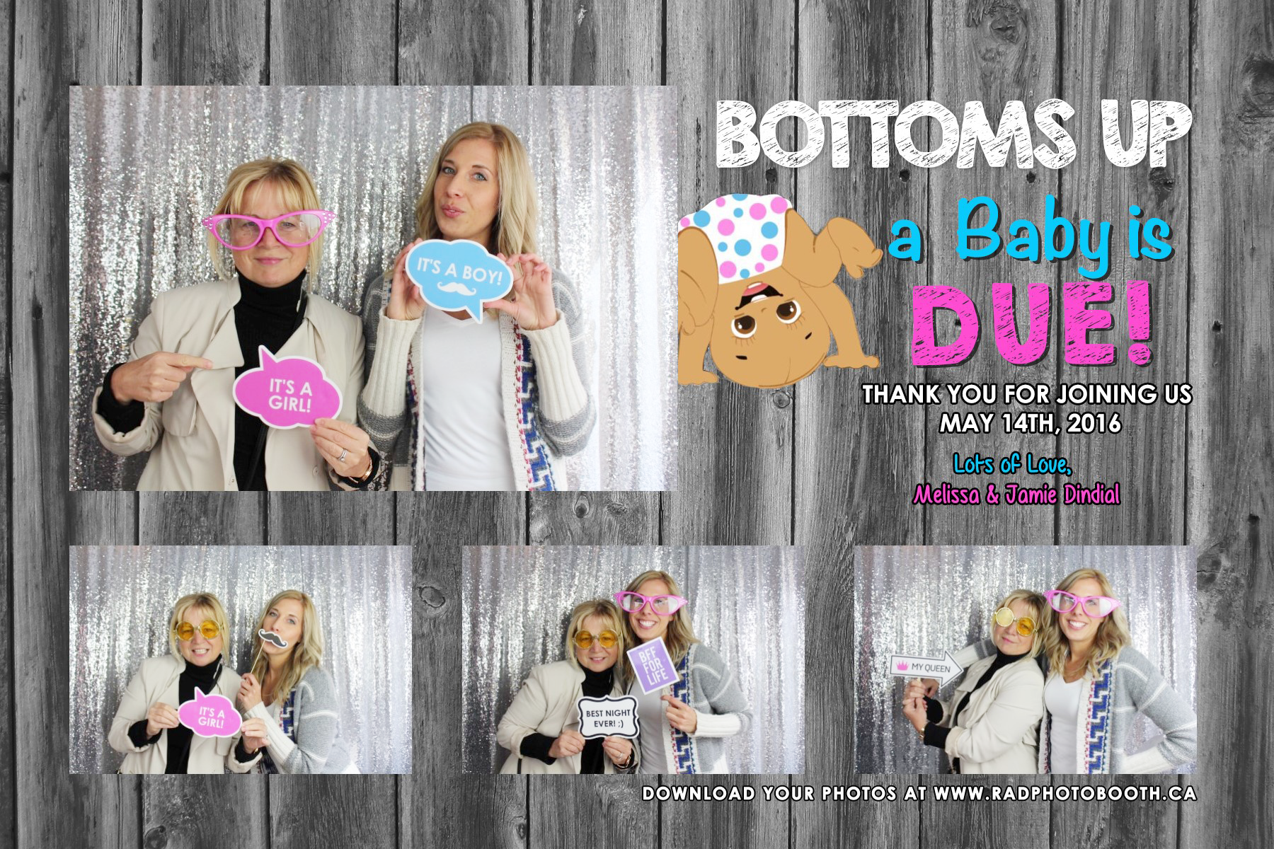 Melissa Baby Shower Brampton Photo Booth