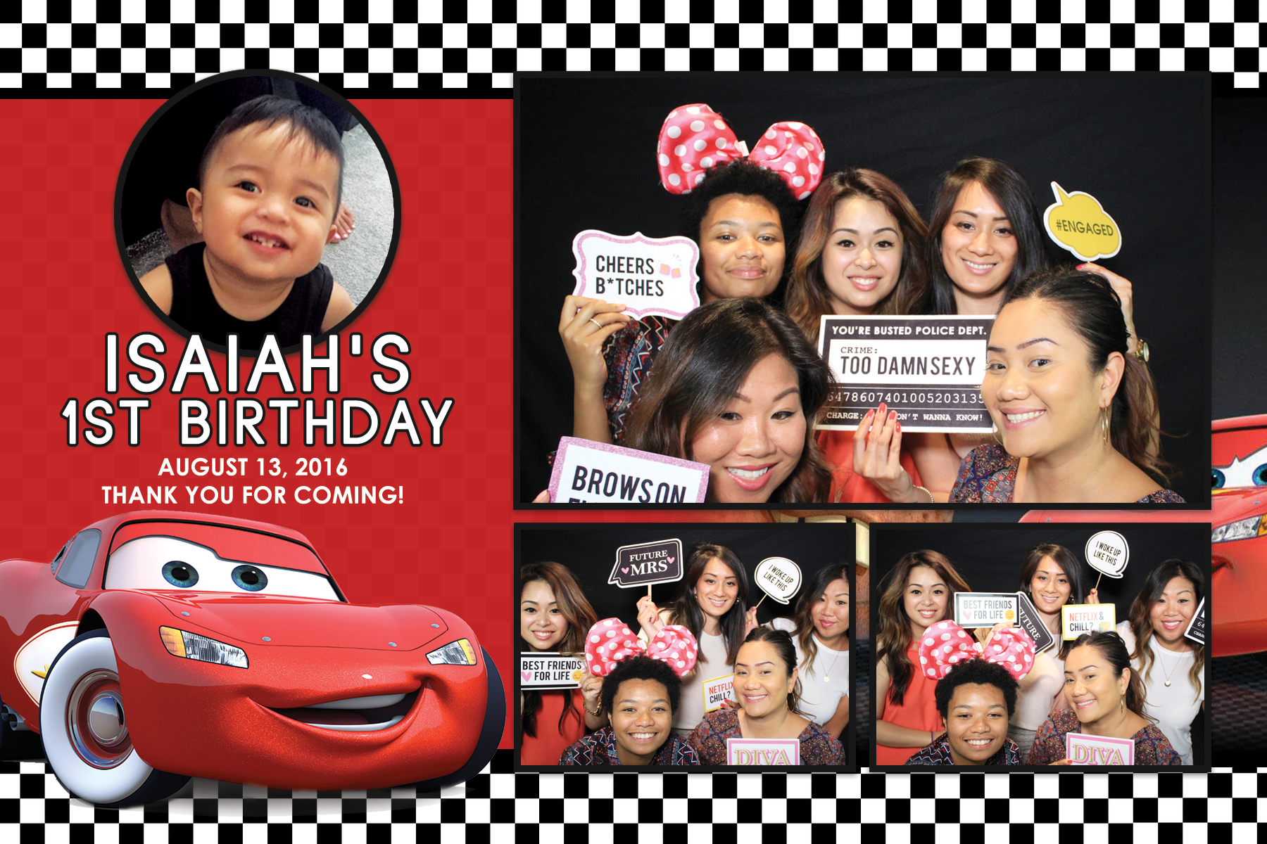 2 Cars Photo Booth
