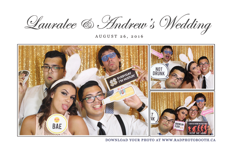 Lauralee & Andrew's Wedding Photo Booth