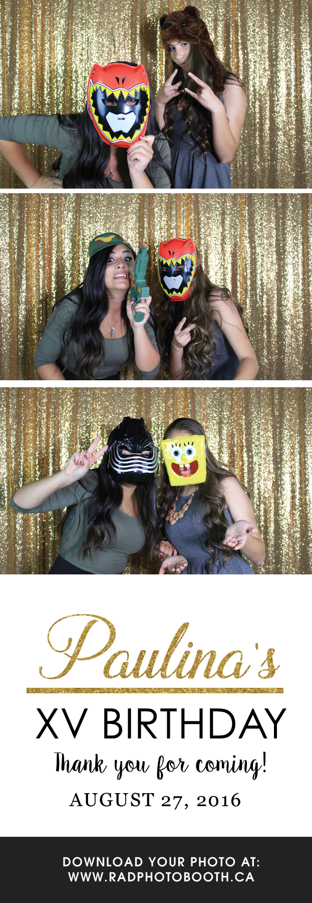 15th Birthday Photo Booth