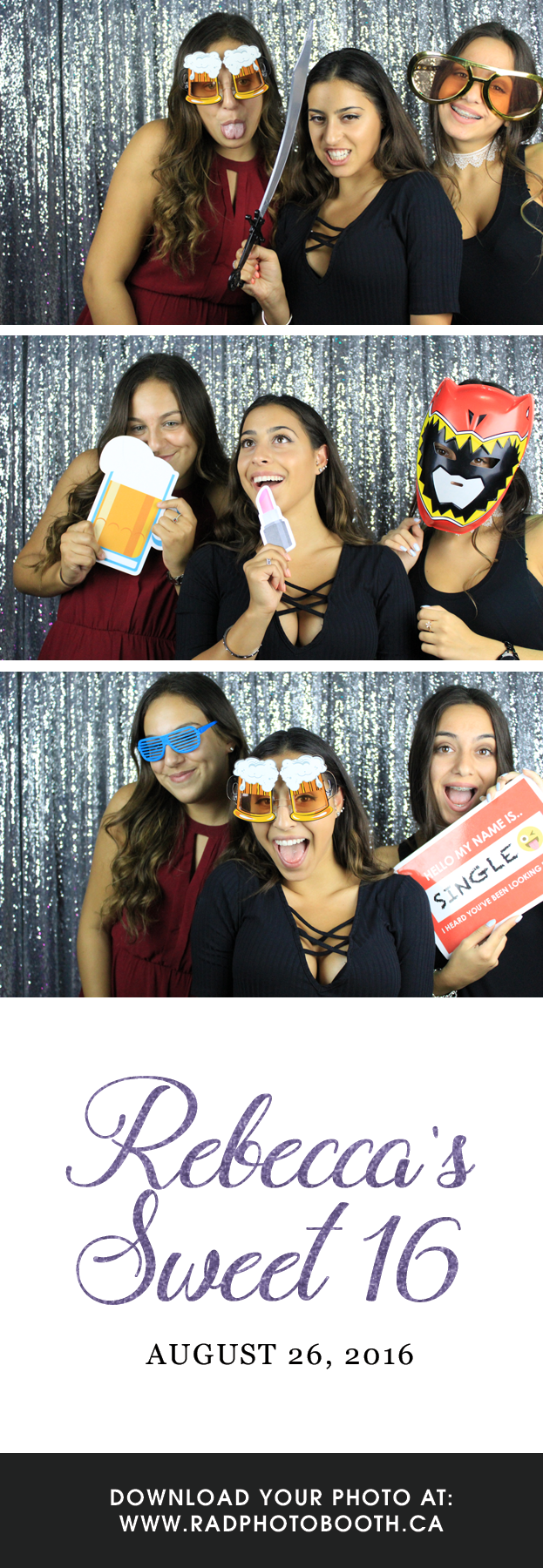 Sweet 16th Photo Booth