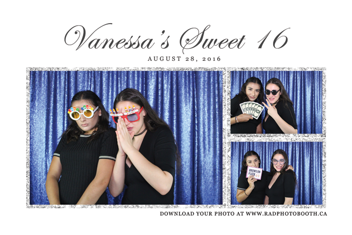 sweet sixteen photo booth toronto
